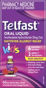 Telfast Oral Liquid 60ml & 150ml – Antihistamine For Kids