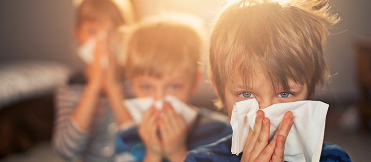 Tips to helping kids sleep with a runny nose