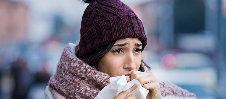 Why is my hayfever allergy flaring up in winter?