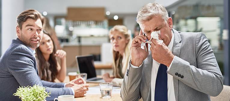 Handkerchiefs – To blow or not to blow