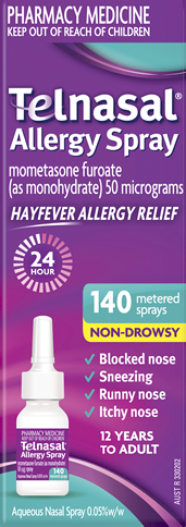 Telnasal Allergy Spray